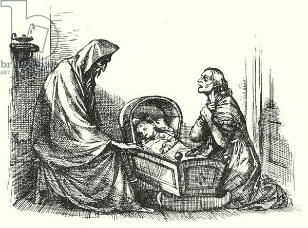 Hans Christian Andersen: Story Of A Mother (litho)