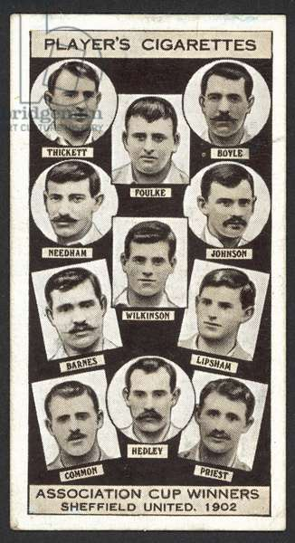 Association Cup Winners, Sheffield United, 1902 (litho)