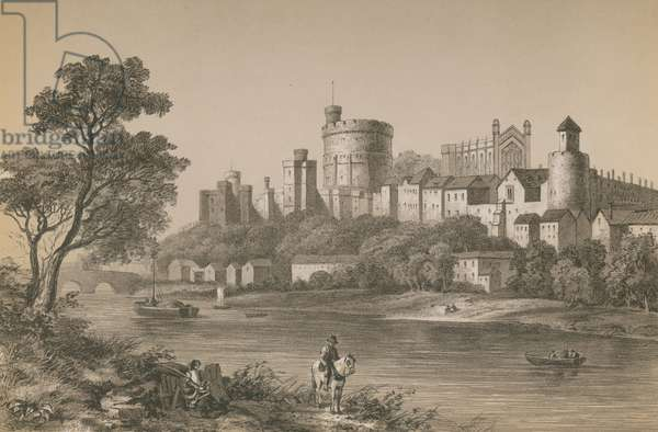 Windsor Castle (chromolitho)