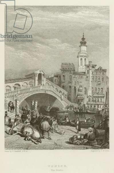 Venice, The Rialto (engraving)