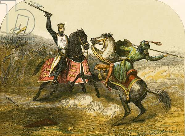 Encounter between Richard I and Saladin