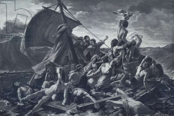 The Raft of the Medusa (litho)