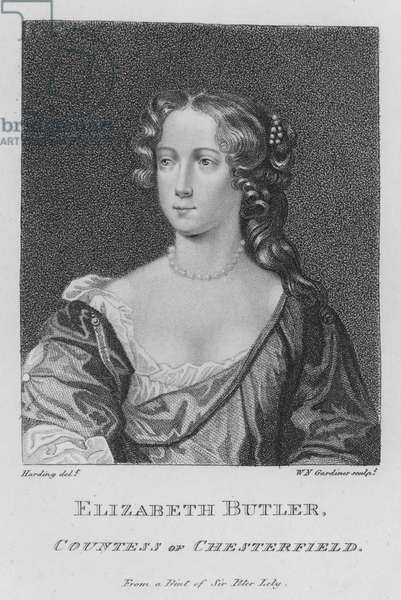 Elizabeth Butler, Countess of Chesterfield (engraving)