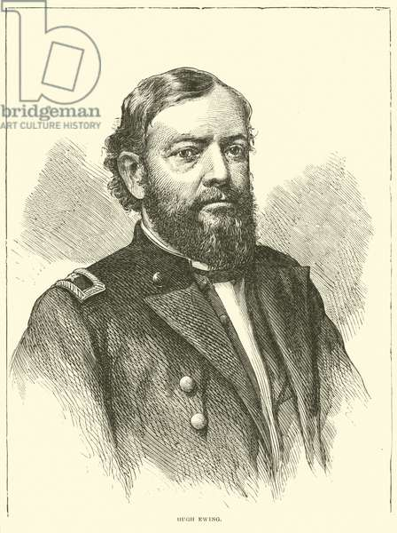 Hugh Ewing, May 1863 (engraving)