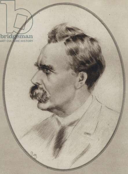 Portraits of Great Philosophers: Nietzsche (litho)