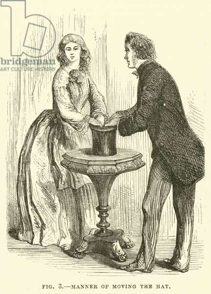 Manner of moving the hat (engraving)