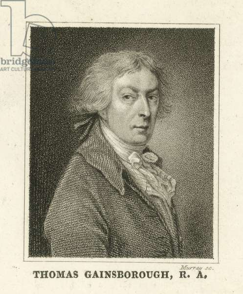 Thomas Gainsborough, Painter (engraving)