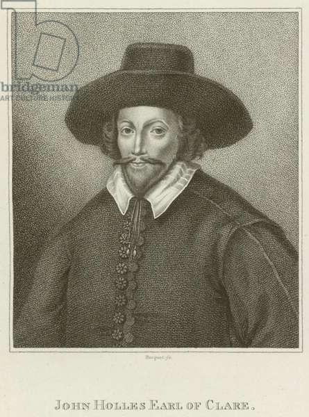 John Holles, Earl of Clare (engraving)
