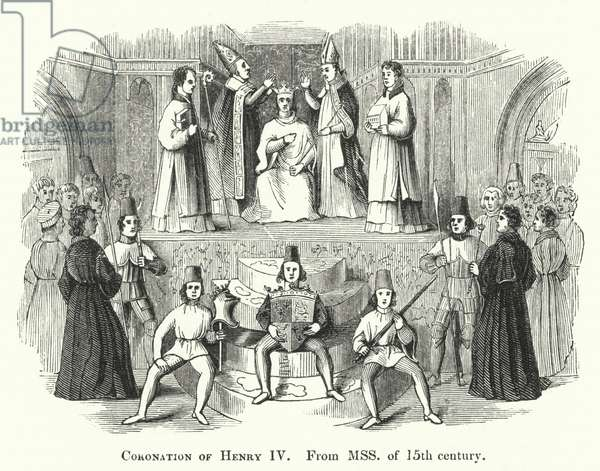 Coronation of Henry IV (engraving)