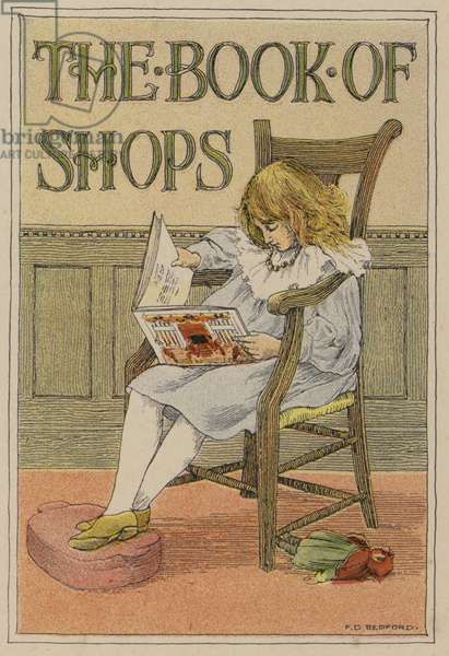 Bedford's Book of Shops: Frontispiece (colour litho)