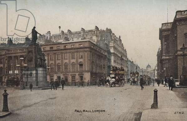 Pall Mall, London (coloured photo)