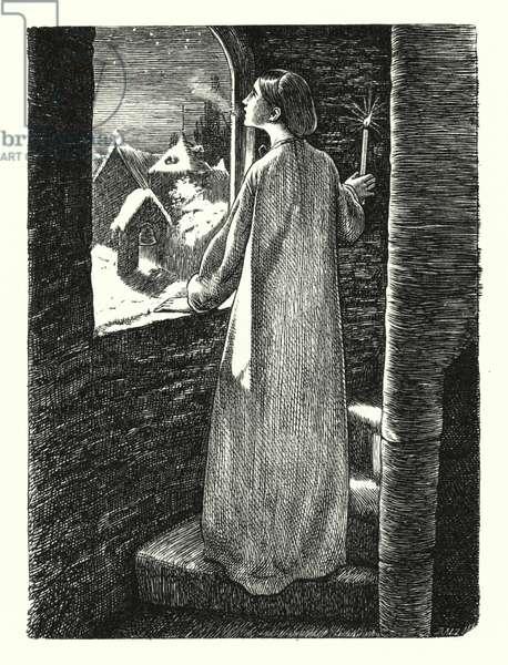 St Agnes' Eve (engraving)