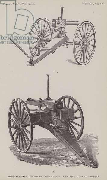 Machine-Guns (engraving)