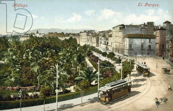 El Parque, Malaga (colour photo)