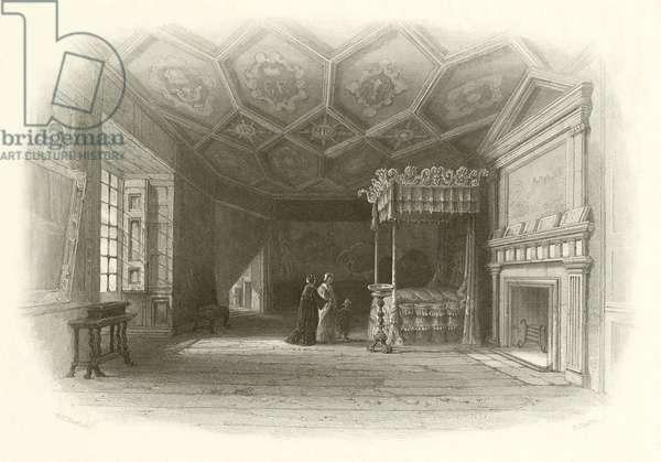 Queen Mary's Bedchamber (engraving)