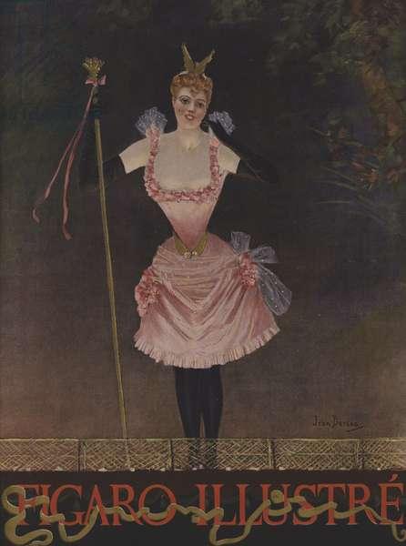 Cover of Le Figaro Illustre, December 1891 (colour litho)