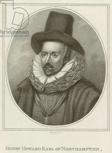 Henry Howard, Earl of Northampton (engraving)