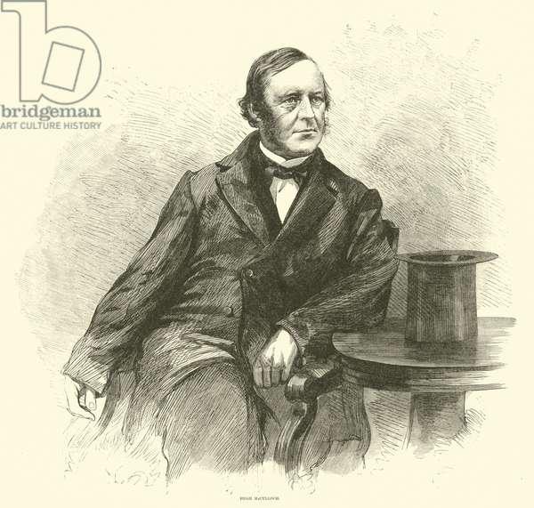 Hugh McCulloch, April 1865 (engraving)
