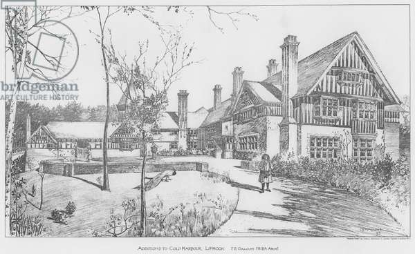 Additions to Cold Harbour, Liphook (litho)