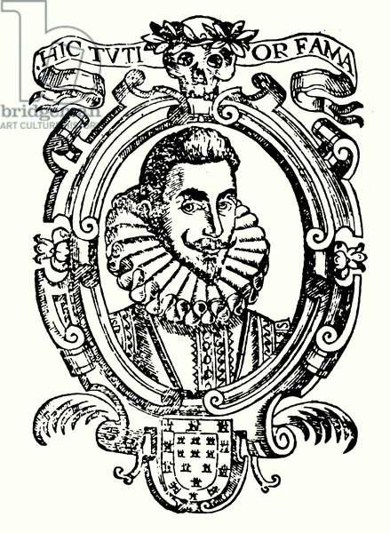 Lope de Vega, Spanish poet, playwright and novelist (litho)