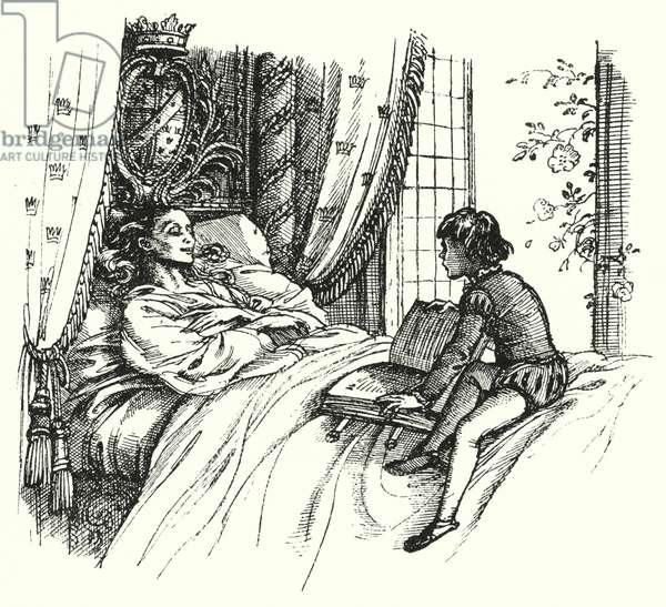 Hans Christian Andersen: The World's Fairest Rose (litho)