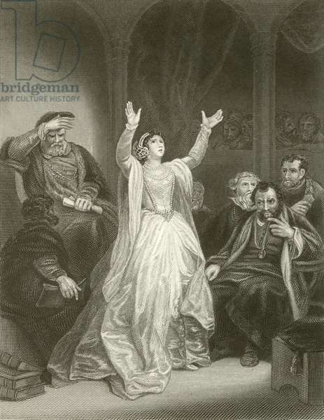 Condemnation of Anne Boleyn (engraving)