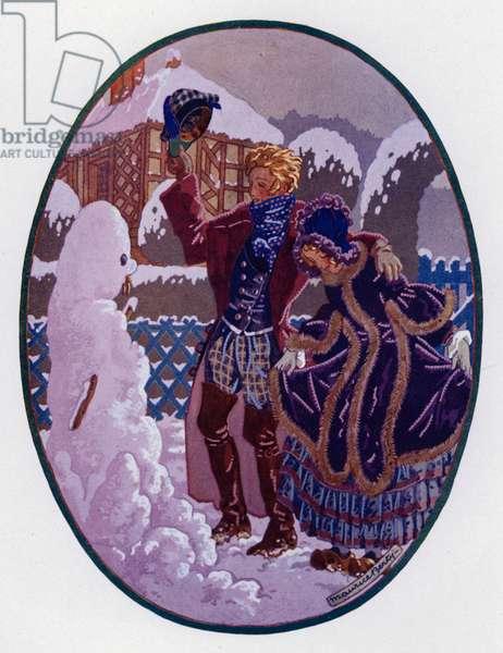 L'Homme De Neige (colour litho)