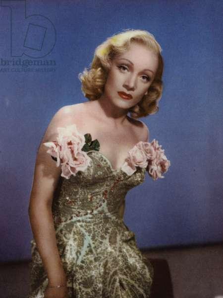 Marlene Dietrich (photo)
