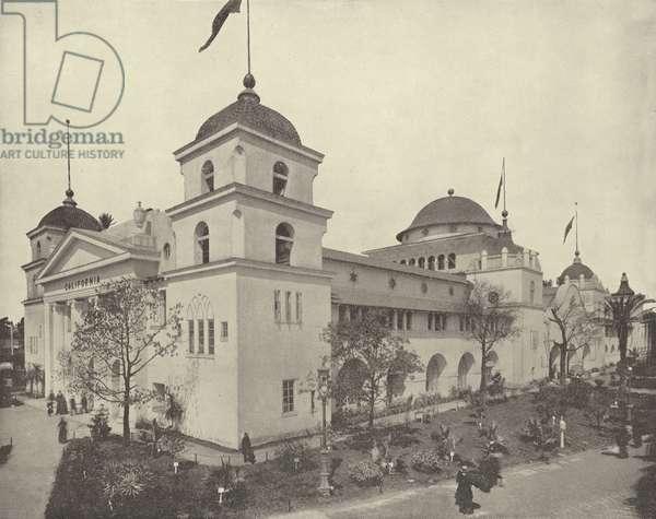 The California Building (b/w photo)