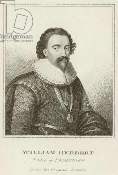 William Herbert, Earl of Pembroke (engraving)