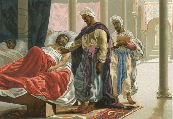 Abulcasis in the hospital in Cordoba