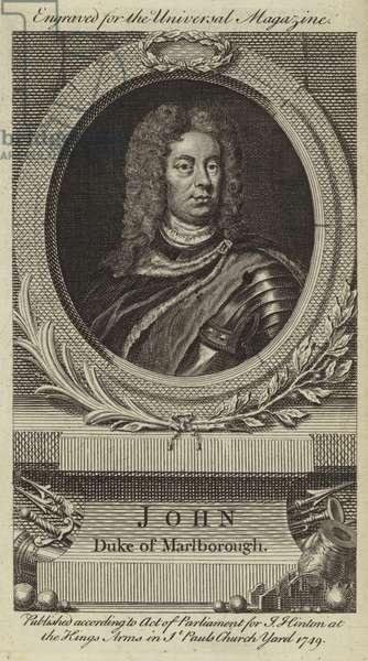 John, Duke of Marlborough (engraving)