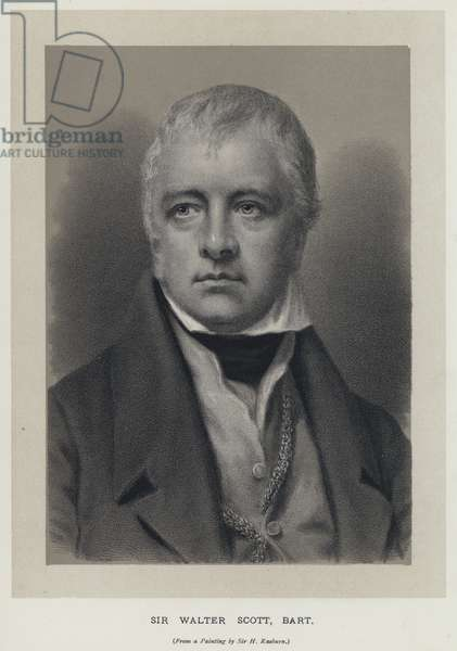 Sir Walter Scott, Baronet (engraving)