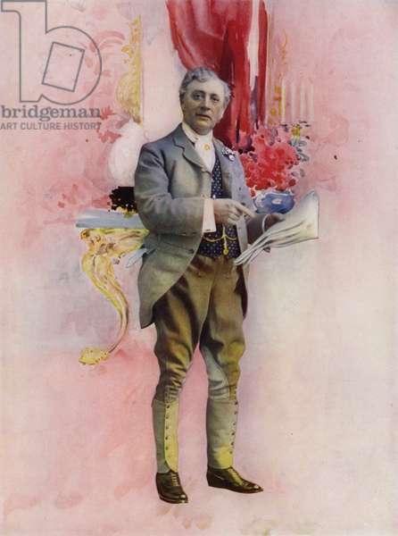 Mr Charles Groves in The Elder Miss Blossom (colour photo)