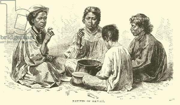 Natives of Hawaii (engraving)