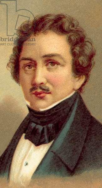 Louis Jacques Mande Daguerre (chromolitho)