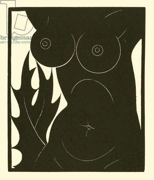 Thorn in the Flesh, 1921 (litho)