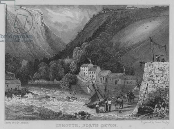 Lymouth, North Devon (engraving)