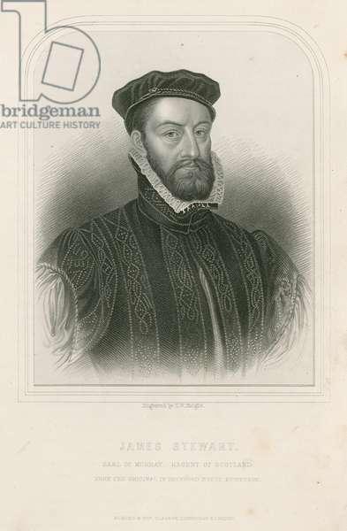 James Stewart, Earl of Murray, Regent of Scotland (engraving)