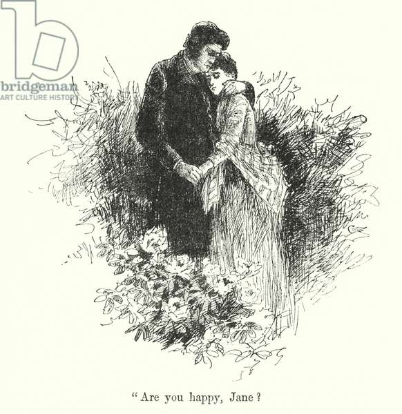 Illustration for Jane Eyre by Charlotte Bronte (litho)