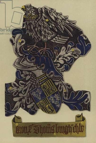 Sir Thomas Burgh, lord Burgh of Gainsborough, 1483-1496 (chromolitho)