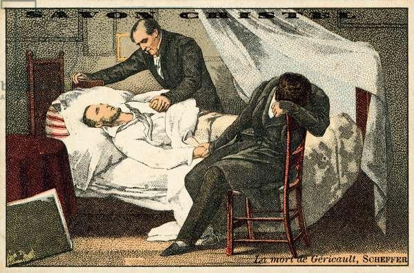 The Death of Gericault (chromolitho)