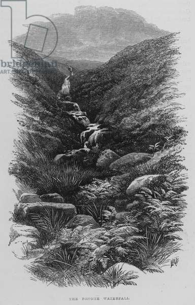 The Bronte Waterfall (engraving)