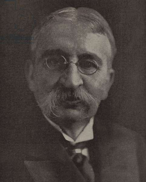 Stephen Pichon, French Foreign Minister at the time of the Paris Peace Conference after World War I (b/w photo)
