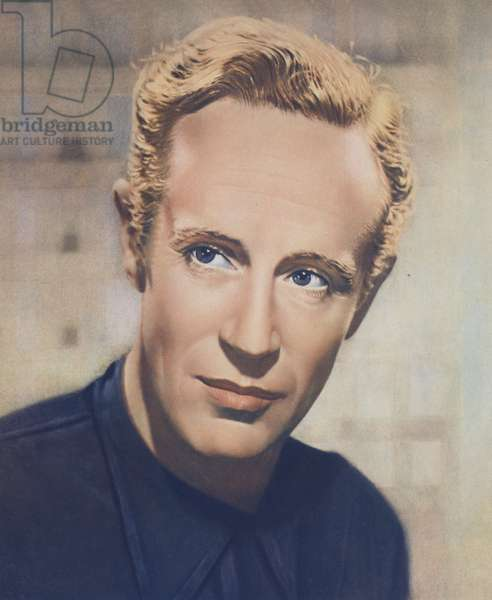 Leslie Howard (colour litho)
