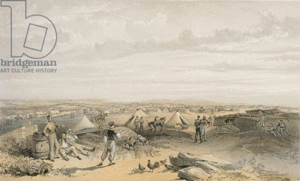 Camp of the 4th Division, 15 July 1855
