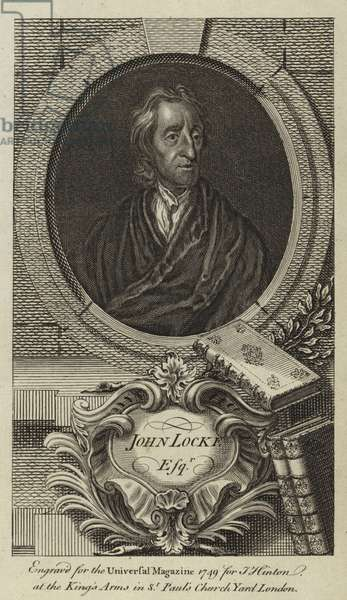 John Locke, Esquire (engraving)