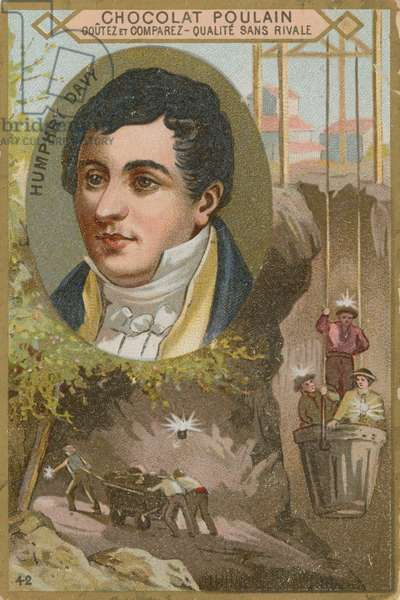 Sir Humphry Davy (chromolitho)