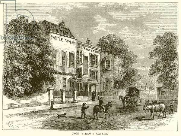 Jack Straw's Castle (engraving)