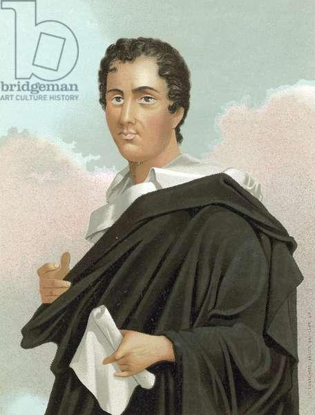 Lord Byron (chromolitho)